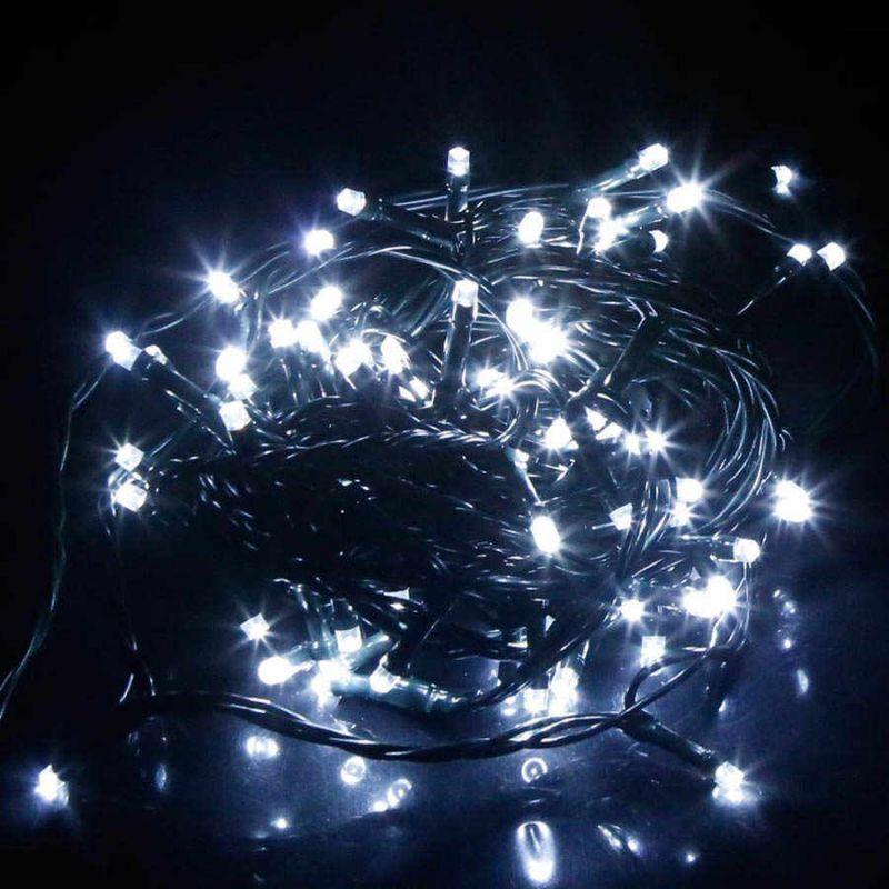 Светодиодная Гирлянда 100 LED, 8м, Цвет Свечения Белый