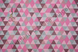 Треугольники Глиттер футер 2-х нитка отрез 0,8м
