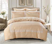 Комплект постельного белья  Сатин с вышивкой  NELI евро   Арт.5127/2