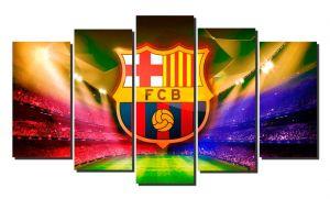 Модульная картина Барселона (Barselona) футбольный клуб