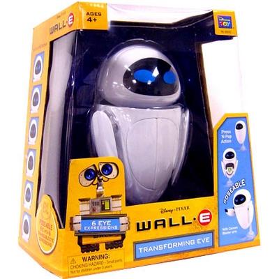 Игрушка из Валли - Ева трансформирующаяся (WALL-E Transforming Eve) УЦЕНКА