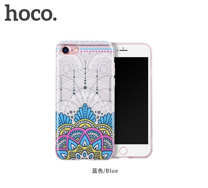 Защитный чехол HOCO Doren series для iPhone7/8, синий