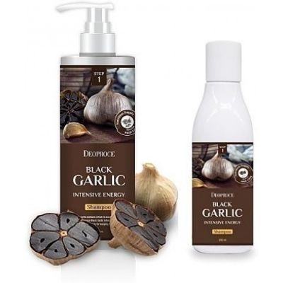 Шампунь для волос с черным чесноком против выпадения волос BLACK GARLIC INTENSIVE ENERGY SHAMPOO