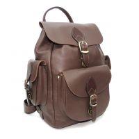"""Коричневый кожаный рюкзак  """"Бонди"""""""