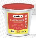 Антигололед KRAFT  ведро 4 кг.