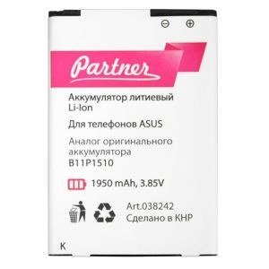 Аккумулятор Partner Asus G550KL ZenFone Go TV/ZB551KL ZenFone Go (B11P1510)