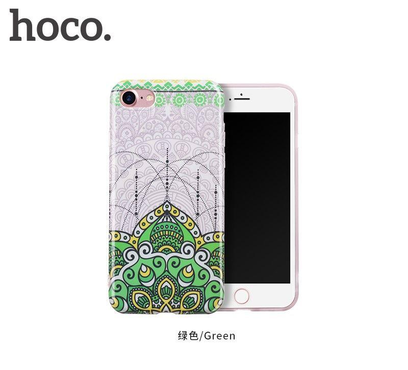 Защитный чехол HOCO Doren series для iPhone7/8, зеленый