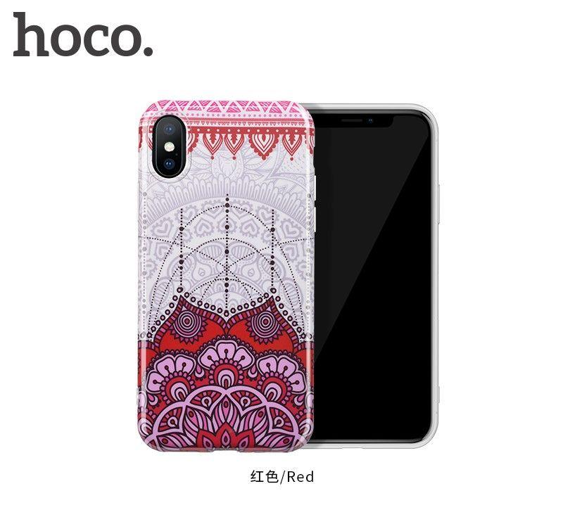 Защитный чехол HOCO Doren series для iPhoneX, красный