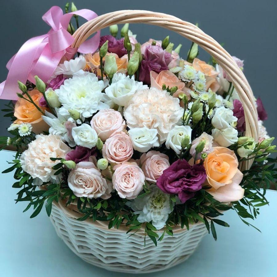 Цветы в корзине №3