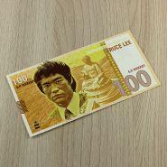 100 рублей BRUCE LEE (с водяными знаками)