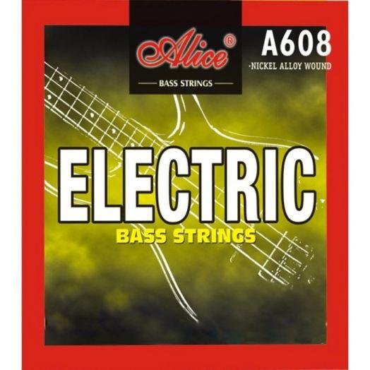 ALICE A608(4)-M (045-105) Cтруны для бас-гитары (4 стр.)