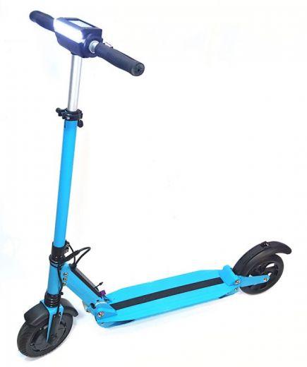 Электросамокат Kugoo S3 Голубой (9000 мА/ч)