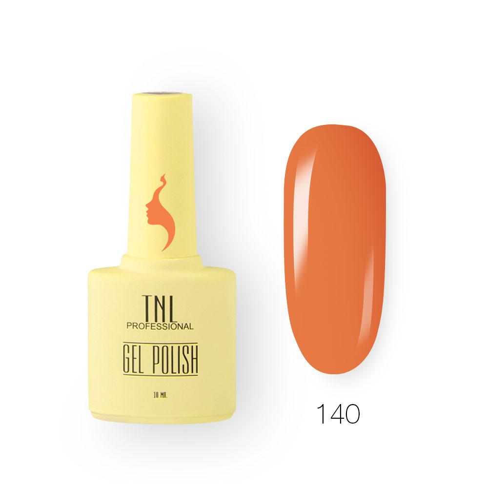 Гель-лак TNL 8 Чувств №140 - сладкий апельсин (10 мл.)