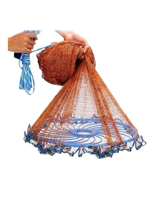 Сеть кастинговая Cast Ring капрон ячея 22мм размер от 3 до 10 м