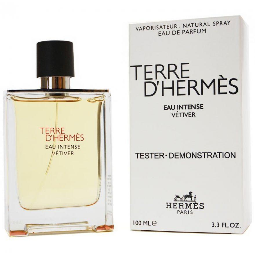 Tester Terre D'Hermes Eau Intense Vetiver 100 мл (EURO)