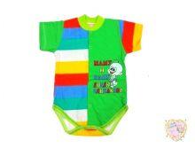 """Боди для новорожденных с коротким рукавом A-BD135-SUkr(pl) (супрем) код 01453 """"Мамин Малыш"""" оптом"""