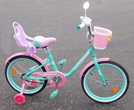 Велосипед Black Aqua  с креслом Rose