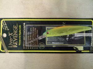 Воблер Megabass Live-X Revenge 90,5 мм / 10,5 гр / Заглубление: 1,8 - 2,8  м / цвет: Skeleton Chart (JP)
