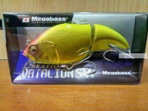 Воблер Megabass Vibration-X Vatalion SW 71 мм / 11 гр / Заглубление: 0,5 - 1,5 м / цвет: M Chart Back Gold (JP)