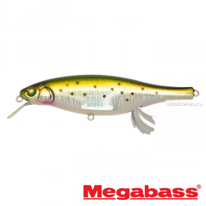 Воблер Megabass Vision 100 Miyabi 105мм / 17,4гр / Заглубление: 0,4 - 0,6 м / цвет: GG Rainbow Trout