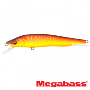 Воблер Megabass Vision 95Q-GO Slow Float 95мм / 9,8гр / Заглубление: 0,1 - 0,5 м / цвет: Aka Tora