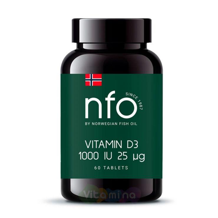 NFO Витамин D3 1000 ME 60 табл.