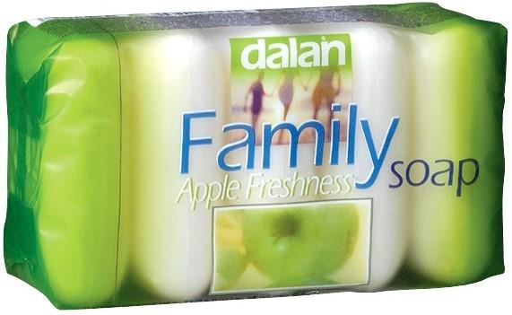 Мыло твердое Dalan (яблоко) 5*75г