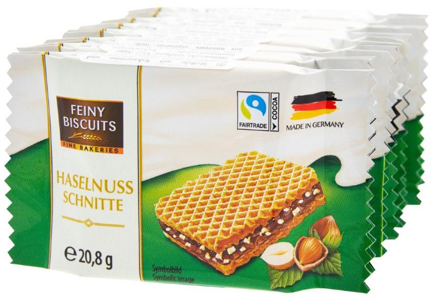 Вафли Feiny Biscuits (фундук) 8*20,8г