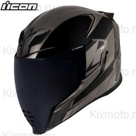 Шлем Icon Airflite Ultrabolt, Чёрно-серый