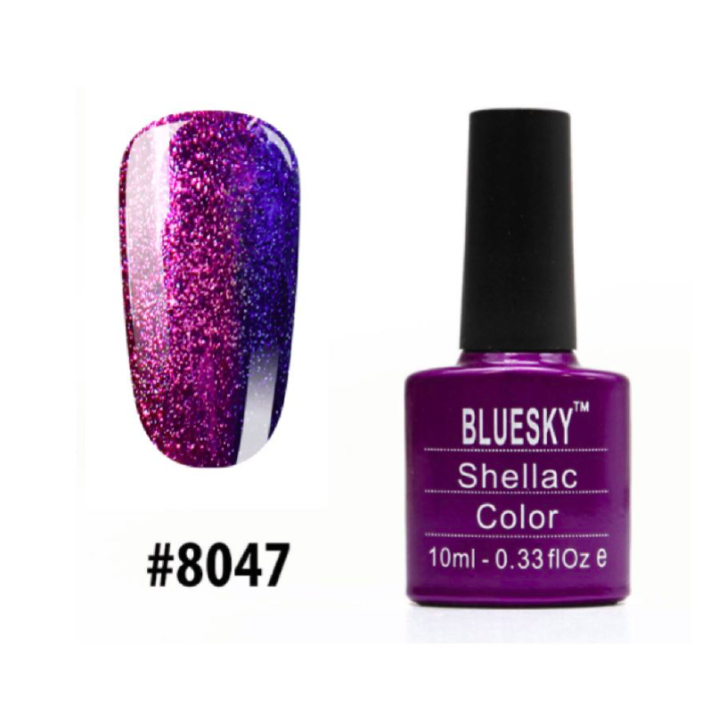 Гель-лак Bluesky Shellac Color 10ml №8047