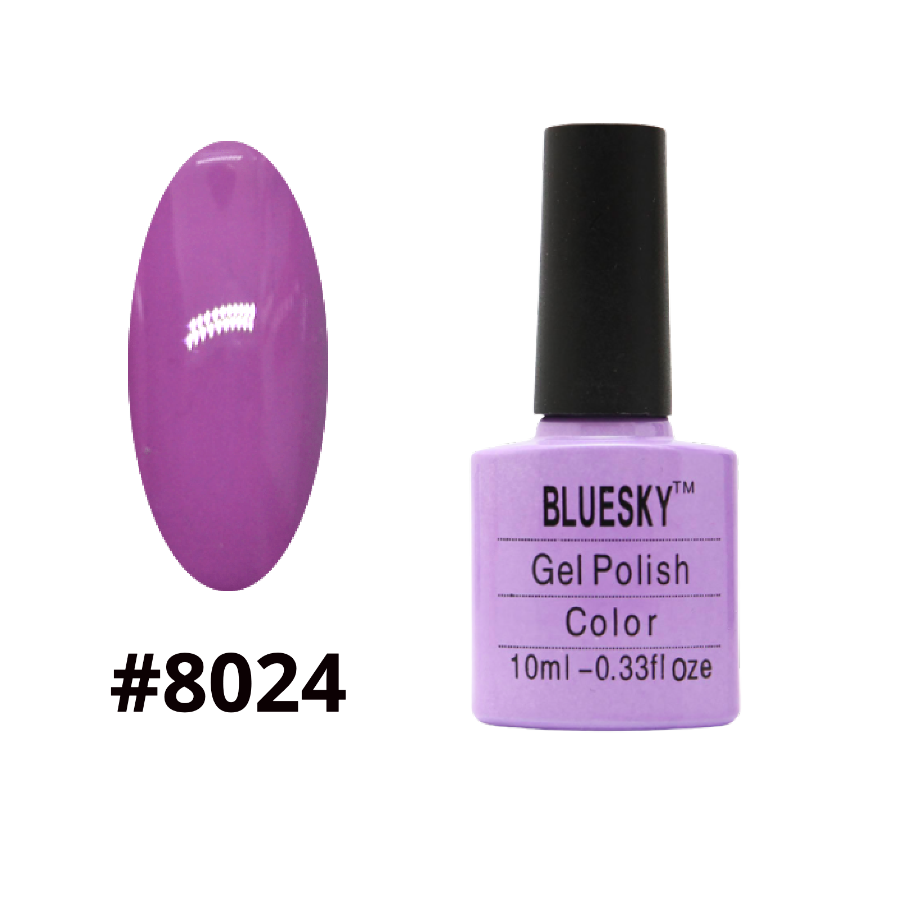 Гель-лак Bluesky Shellac Color 10ml №8024
