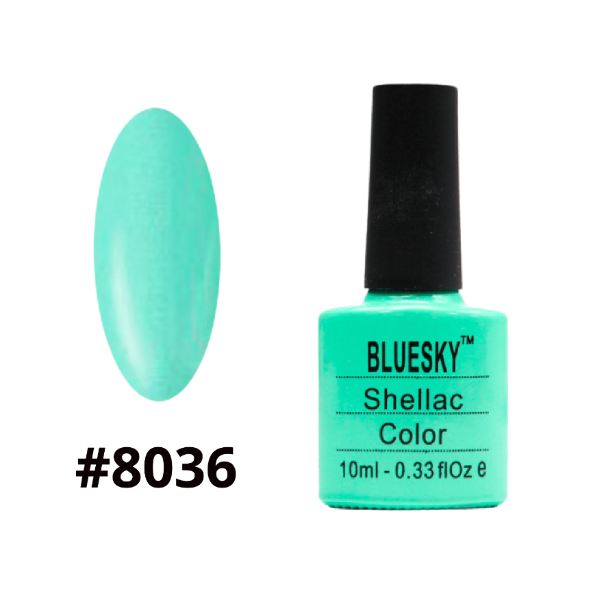 Гель-лак Bluesky Shellac Color 10ml №8036