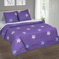 «Небесная фантазия» (DE LUXE) постельное белье Поплин 1.5 спальный