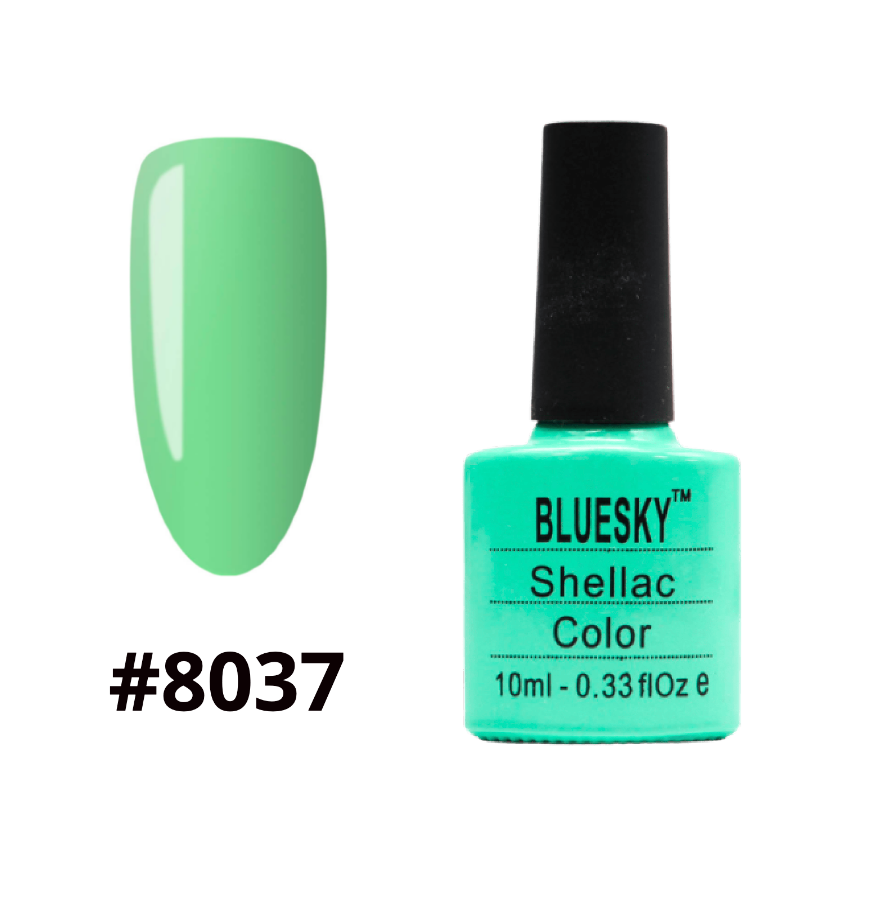 Гель-лак Bluesky Shellac Color 10ml №8037