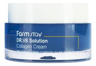 Farm Stay Крем для лица с коллагеном Dr.V8 Solution Collagen Cream 50мл