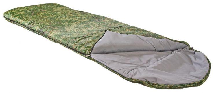 Спальник ПИК-99 ЛОТОС- 300К 1.8 кг -5 °С 200+36х77см Упаковка Ø26 х 44 см