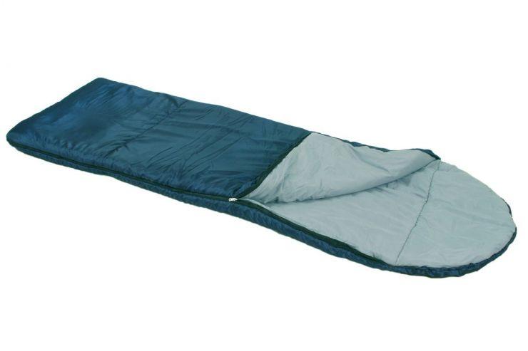 Спальник ПИК-99 ЛОТОС- 400К(утепл молния) 2.2 кг -8 °С 200+36х77см Упаковка Ø26 х 44 см