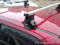 Багажник на крышу Daewoo Matiz (Атлант). Прямоугольные дуги.