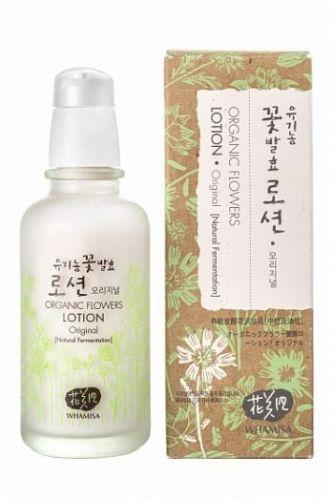 Лосьон для нормальной и сухой кожи Whamisa Organic Flowers Lotion Original