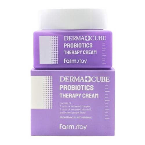 Farm Stay Крем для лица с пробиотиками Derma Cube Probiotics Therapy Cream 50мл