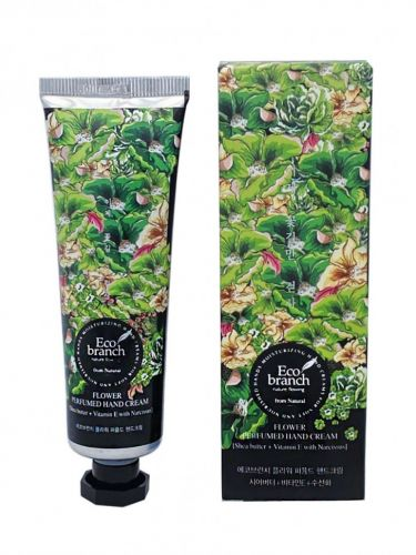 Eco Branch Крем для рук Flower Perfumed Hand Cream Shea Butter With Narcissus 40гр