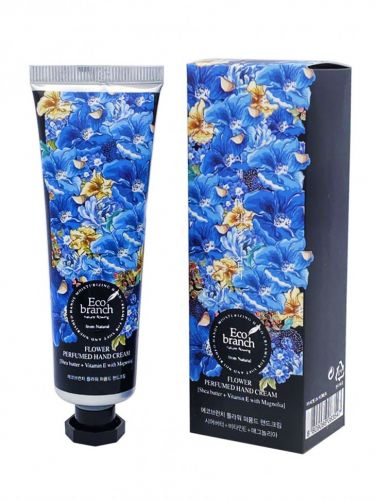 Eco Branch Крем для рук Flower Perfumed Hand Cream Shea Butter With Magnolia 40гр