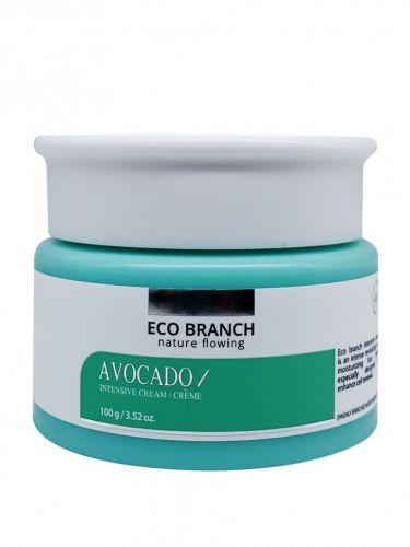 Eco Branch Интенсивный увлажняющий крем для лица с экстрактом Авокадо Intensive Avocado Cream 100 мл