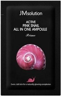 Сыворотка с муцином улитки JMsolution Active Pink Snail All In One Ampoule Prime 2мл