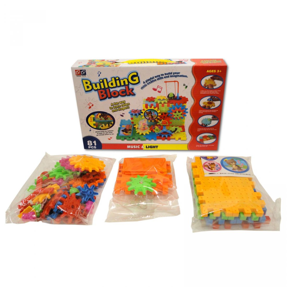 Building Blocks конструктор 81 деталь