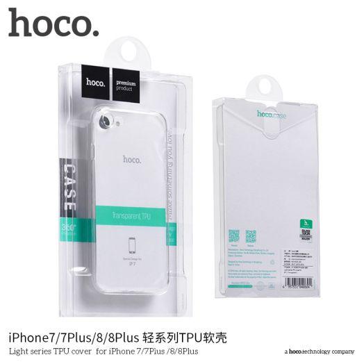 Защитный чехол Light series для iPhone7 Plus/8 Plus, черный полиуретан
