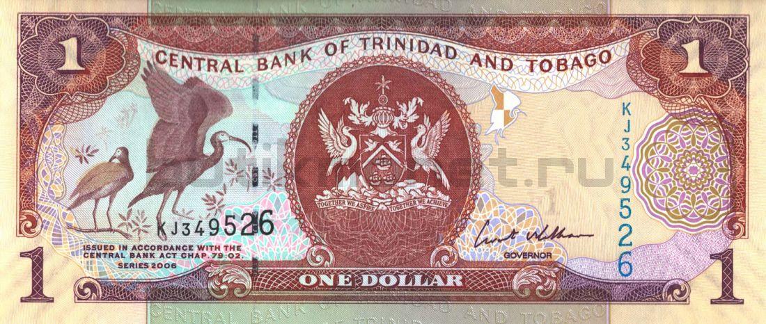 1 доллар 2006 Тринидад и Тобаго