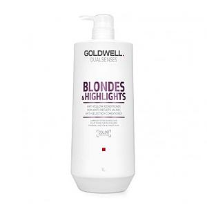 Goldwell Dualsenses Blondes and Highlights Anti-Yellow Shampoo – Шампунь против желтизны 1000 мл