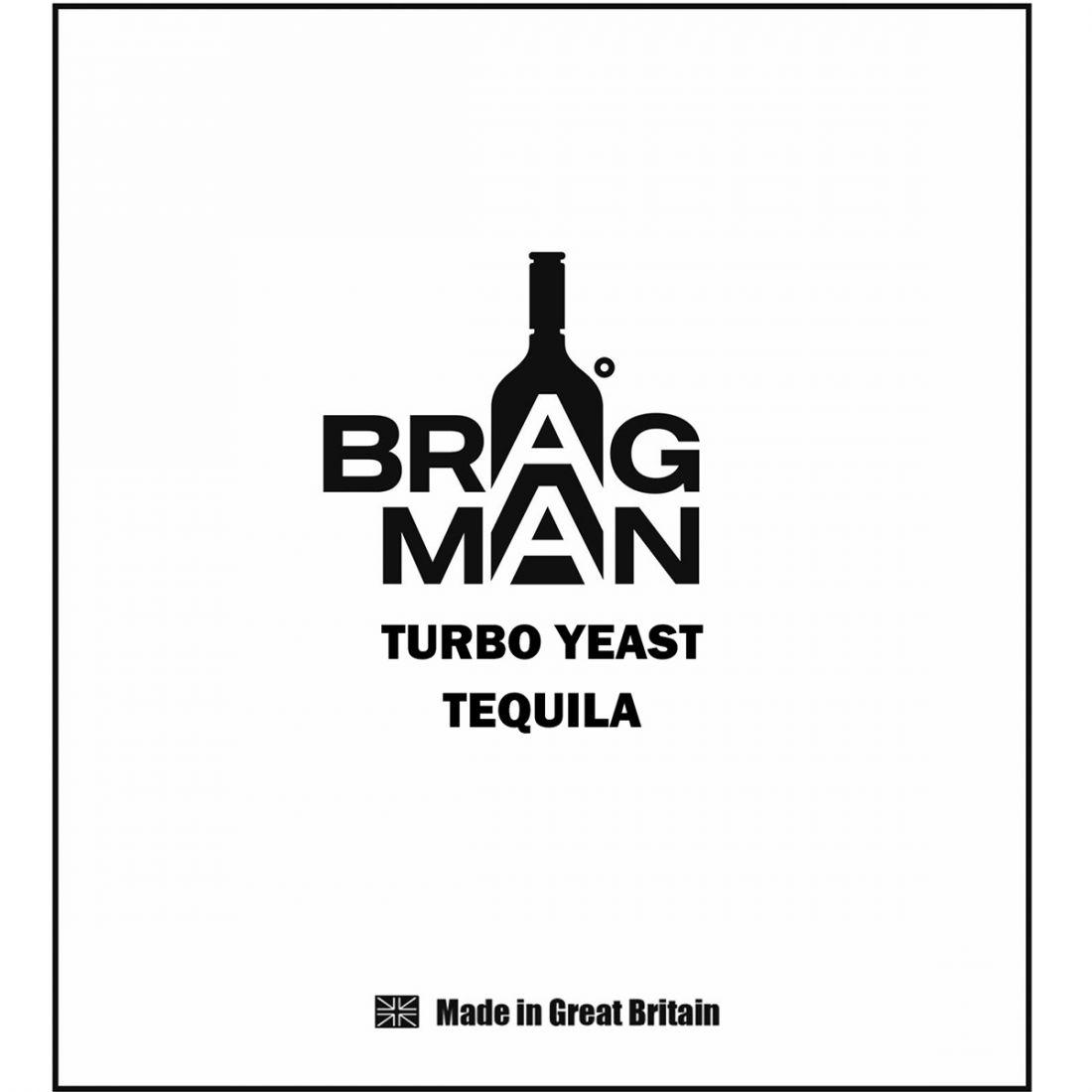 "Спиртовые дрожжи Bragman ""Tequila"", 100 г"
