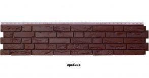 """Панель GL """"Я фасад Демидовский кирпич. Цвет: Арабика, уголь, гречневый.Размер: 1475х306мм"""